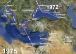 1972-1975 Rejsy statkami pasażerskimi