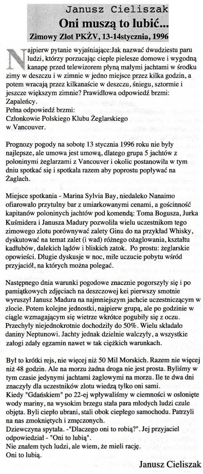 5 Zimowy Zlot PKZ 13-14.01.1996 (700)