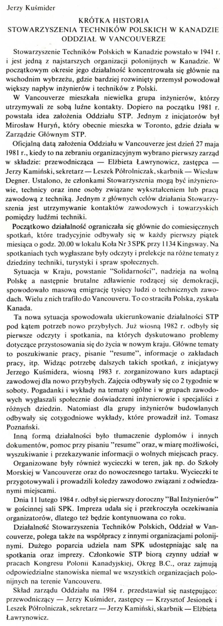 Polacy w BC STP