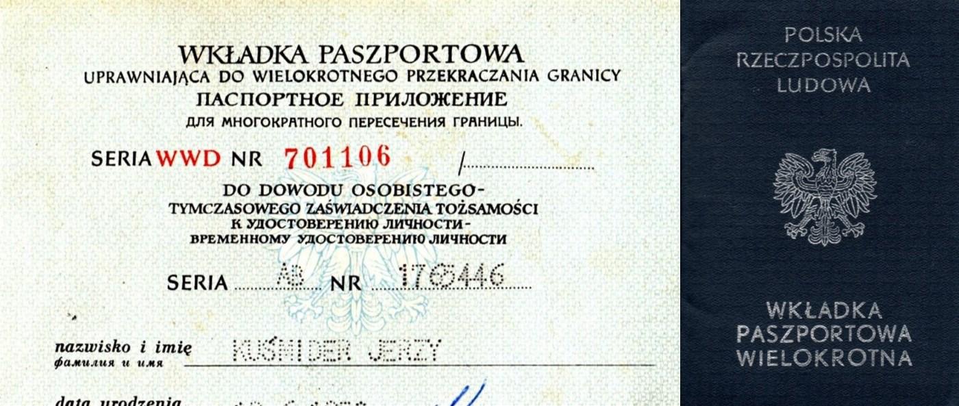 Wkladka Paszportowa 1